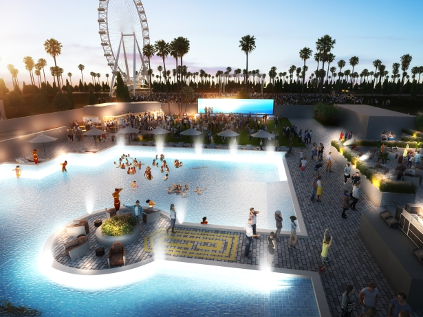 pool view3 1 Hotel Indigo Coachella Developers Looking to EB 5 for Construction Debt