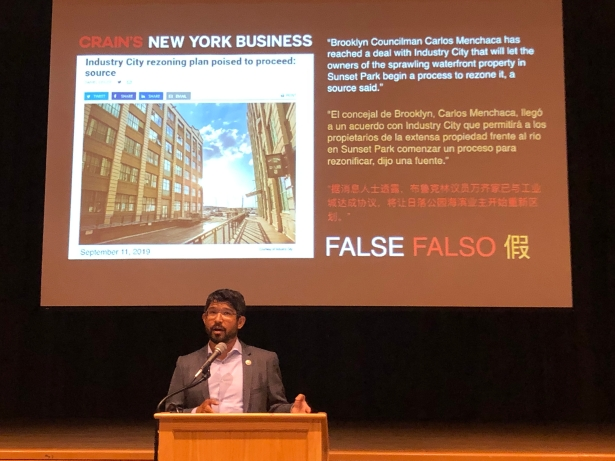 2019 09 16 18.45.41 Sunset Park Councilman Pitches an Alternative to Industry City Rezoning Plan