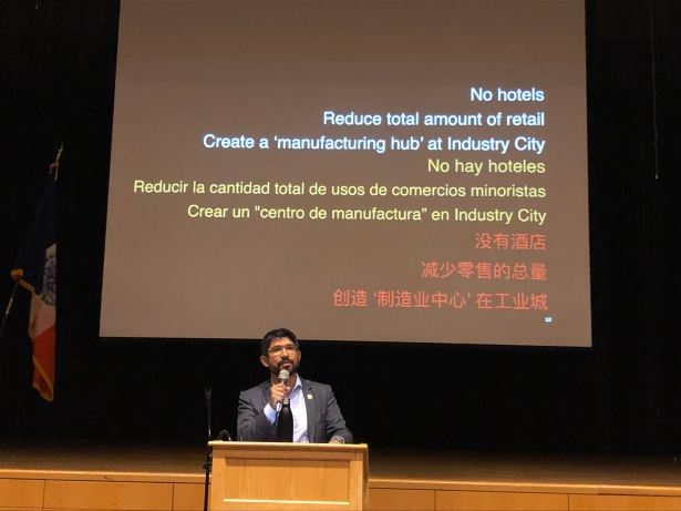 2019 09 16 19.16.16 Sunset Park Councilman Pitches an Alternative to Industry City Rezoning Plan