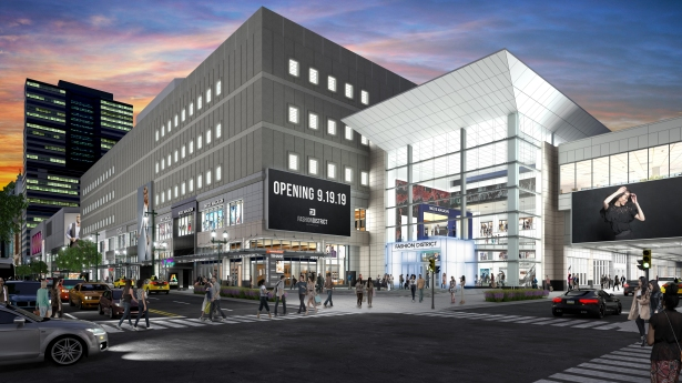 fdp market 9th cube exterior The Mighty Penn: How Penn REITs New Philly Mall Tests the Future of Retail