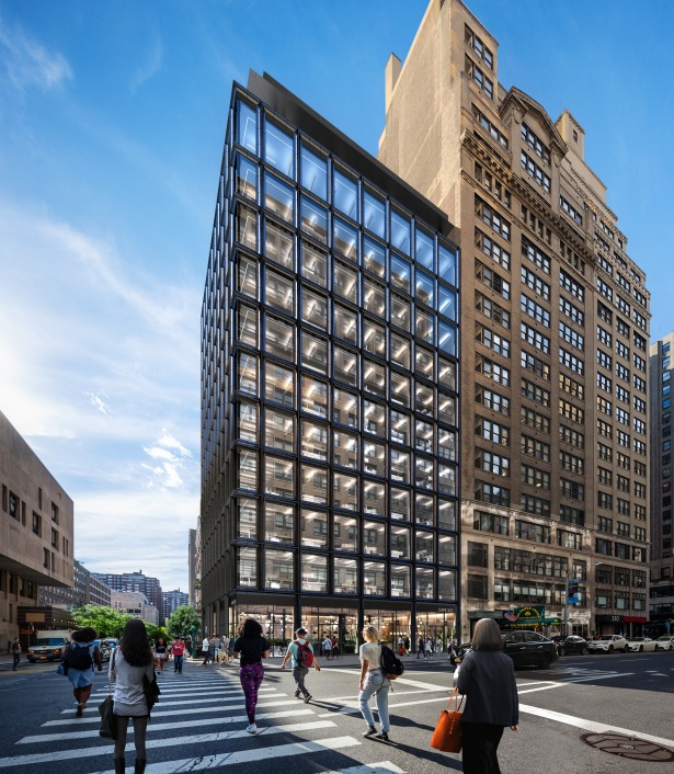 gdsny 287 view to west GDSNY Reveals Renderings of New Chelsea Office Tower