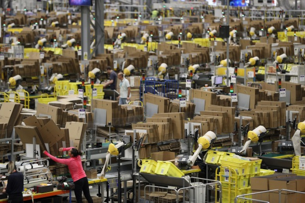 gettyimages 623334652 Prime Location: What Goes on in an Amazon Warehouse