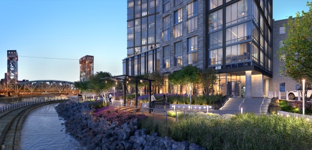bankside 4 from river Brookfield Reveals Renderings for Its South Bronx Megaproject