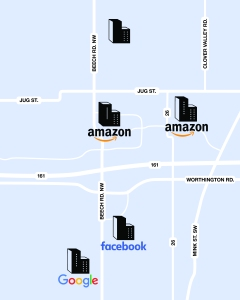 data map2 01 1 How Les Wexner Created the Richest Town in Ohio