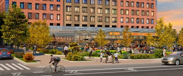 final pedestrian 04 10v 5 7 19 aufgang architects FRESH Take: Are New York City Grocery Stores Moving Into New Developments?